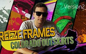 【F646】AE模板-水墨定格片头包装 Freeze Frames Colorado Outskirts V2模板